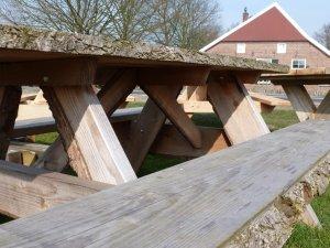 douglas picknickbank met schors