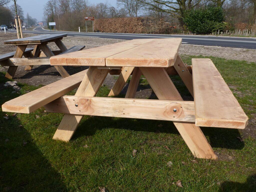 Douglas Picknicktafel 2,5 meter kopen? Stevige picknicktafel!