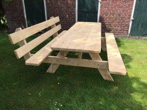 picknicktafel met rugleuning